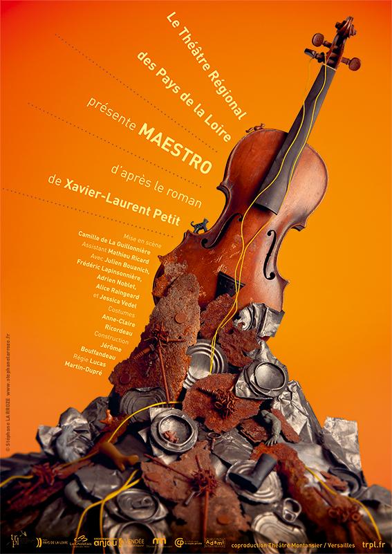 Affiche du spectacle Maestro