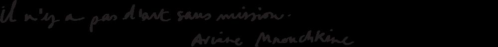Il n'y a pas d'art sans mission - Ariane Mnouchkine