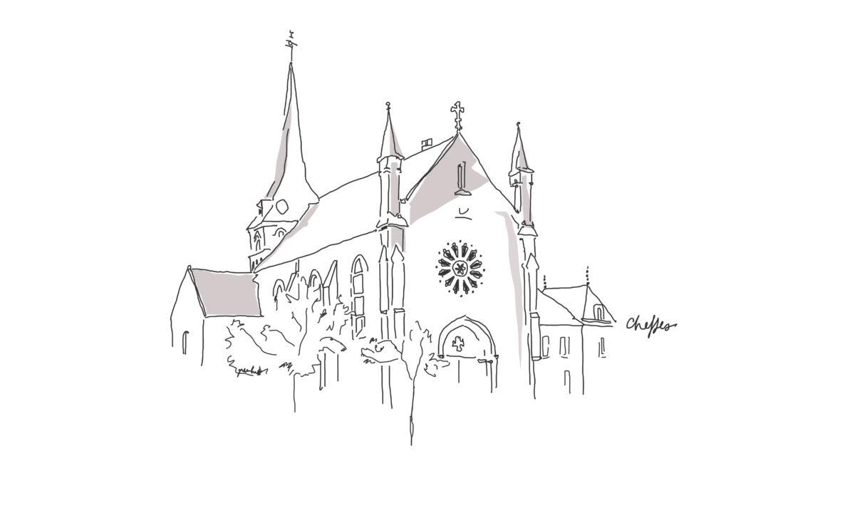 illustration de l'église de Cheffes
